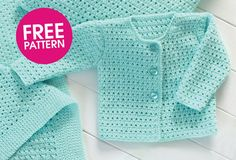 Someone teach me how to crochet! Free pattern: crochet a cardigan | Mollie Makes
