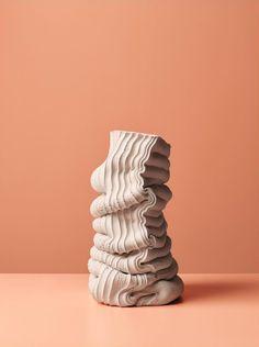 Anton Alvarez: Alphabet Aerobics — Thisispaper — What we save, saves us. Ceramic Pots, Ceramic Clay, Ceramic Pottery, Pottery Art, Art Sculpture, Abstract Sculpture, Contemporary Sculpture, Contemporary Art, Keramik Design
