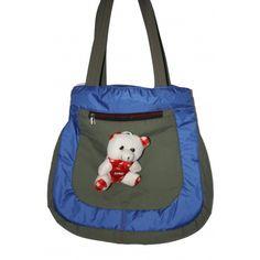 Cotton Hand Bag (Blue