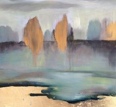 Abstract Landscape - Oil on gesso board