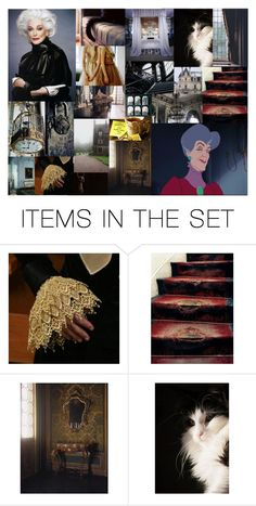 """""""Dreamcast: Carmen Dell'Orefice as Lady Tremaine"""" by morgan-graves ❤ liked on Polyvore featuring art"""