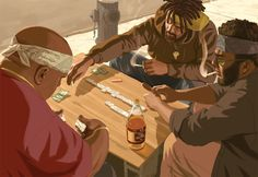 View an image titled 'Game of Dominos Art' in our Grand Theft Auto IV art gallery featuring official character designs, concept art, and promo pictures. Arte Hip Hop, Hip Hop Art, Gta 5, Mafia, San Andreas Gta, Grand Theft Auto 4, Character Art, Character Design, Emo Wallpaper