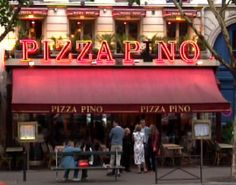 If you are ever craving pizza while in France, this place is amazing