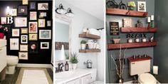 25+ úžasných nápadů pro koupelnovou stěnu