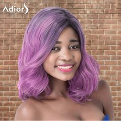 GET $50 NOW | Join RoseGal: Get YOUR $50 NOW!http://www.rosegal.com/synthetic-wigs/adiors-medium-layered-wavy-colormix-881024.html?seid=7518539rg881024