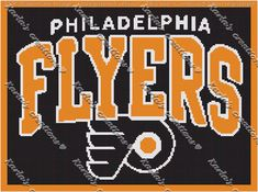 Flyers Crochet Graph by KarlasCreationsGraph on Etsy