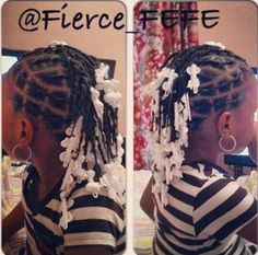 Hair style for young girl