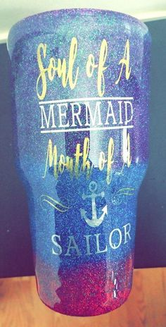 mermaid, sailor, glitter, sparkly, tumbler, gift, funny, pool, summer, pink, design, budget, fun, funny