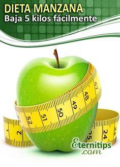Dieta de la Manzana: PIERDE 5 KILOS FACILÍSIMO