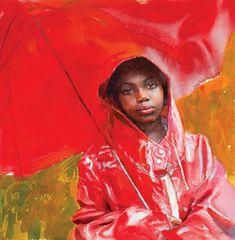 Mary Whyte Art Workshop 2020 Art in the Mountains Fine Art Watercolor Artists, Watercolor Portraits, Watercolor Paintings, Watercolors, Watercolor Techniques, African American Art, African Art, Richard Burlet, Umbrella Art