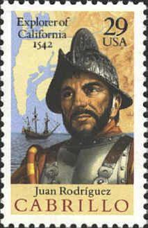 famous spanish conquistadors   Juan Rodriguez Cabrillo ~ 1542