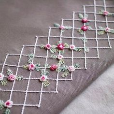 Wonderful Ribbon Embroidery Flowers by Hand Ideas. Enchanting Ribbon Embroidery Flowers by Hand Ideas. Hand Embroidery Patterns Flowers, Hand Embroidery Videos, Embroidery Stitches Tutorial, Hand Work Embroidery, Embroidery Flowers Pattern, Silk Ribbon Embroidery, Embroidery For Beginners, Hand Embroidery Designs, Embroidery Ideas