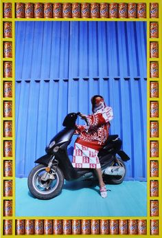 'Kesh Angels is a photo series that captures the vibrant street culture of Morocco and pays tribute to the biker culture of the young women of Marrakesh. Marrakesh, Andy Warhol, Girl Motorcyclist, Motorbikes Women, Pop Art, James Rosenquist, Bike Gang, Photographie Indie, Afrique Art