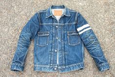 Momotaro Jeans Double Pocket Denim Jacket 15.7oz