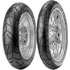 Pirelli Scorpion Trail Tire - Rear - , Position: Rear, Rim Size: Tire Application: Touring, Tire Size: Tire Type: Dual Sport, Load Rating: Speed Rating: V 2031600 Aftermarket Motorcycle Parts, Motorcycle Tires, Pirelli Tires, Tyre Brands, Cafe Racer Build, Dual Sport, Bmw Motorcycles, Motorcycle Parts And Accessories, Scorpion