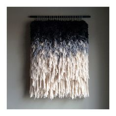 MADE TO ORDER - Woven wall hanging // Handwoven Tapestry Weaving Fiber Art Textile Wall Art Woven Home Decor Jujujust by jujujust on Etsy https://www.etsy.com/listing/261083622/made-to-order-woven-wall-hanging