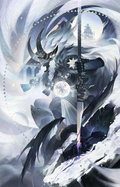 Character Art, Character Design, Character Ideas, White Dragon, Winter Is Here, Anime Artwork, Best Games, Soul Calibur, Art Drawings