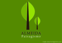 Logotipo Almeida Paisagismo - By Fiori di Giardino