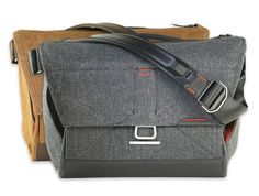 The Everyday Messenger - Amazing photo bag and not your typical construction. I prefer backpacks but use this regularly since the strap can be adjusted as you are walking.