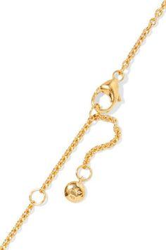 Larkspur & Hawk Caterina Gold-dipped Quartz Necklace 8FssvELZS