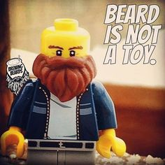 """""""Beard is not a toy"""""""
