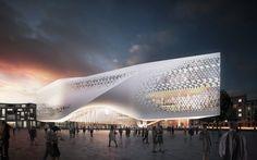 Dance Palace St. Petersburg  - Architectural Development Russia, design by UNStudio