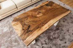 Mesa de café de madera de nogal. Serie Regia