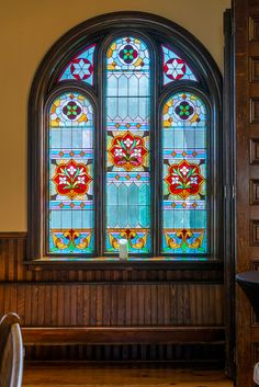 Stunning Stained Gl At The Ottawa Wedding Chapel Just South Of On