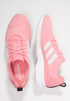 adidas Originals ZX FLUX SMOOTH - Sneakers - super pop/core white - Zalando.dk