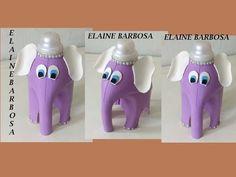 Plastic Milk Bottles, Plastic Bottle Flowers, Plastic Bottle Crafts, Recycled Bottles, Water Bottles, Cardboard Box Crafts, Vase Crafts, Paper Art Design, Plastic Design