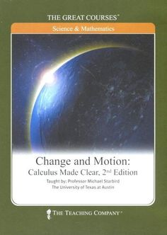 NEW Great Courses CHANGE & MOTION: CALCULUS MADE CLEAR DVD Set Math Teaching Company