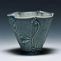 Kristen Kieffer Cocktail Cup - Floral Grow