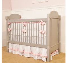 Looking for a touch of sophistication in your nursery? Look no further than the Westport Crib. Sporting the fusion of strong angles and smooth curves, the Westport Crib features hand-turned posts on each corner and a recessed panel for each headboard. We make our cribs to adhere to the highest safety standards.  Your Westport Crib will shine with an accent color! Choose from over 30 different colors and stains to customize your piece to your unique personality.