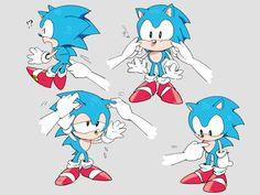 gaming sonic Fanart video games sega sonic the hedgehog sega mega drive sonic generations classic sonic chilidogs i'm seriously crying because of how cute this is Game Sonic, Sonic 3, Sonic The Hedgehog Sega, Sonic Fanart, Game Character, Character Design, Sonic Generations, Classic Sonic, Sonic Mania