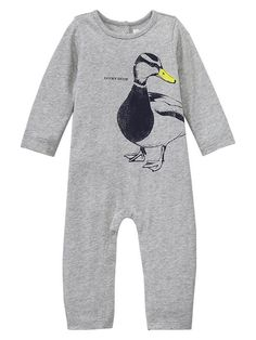 Lucky duck graphic one-piece Product Image