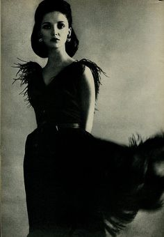 Donna Mitchell, 1964  by  Lillian Bassman