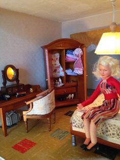 Slaapkamer met caco popje moeder