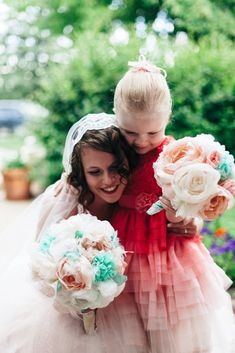 Make a Bridal Bouquet of Fabric Flowers