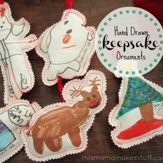 Heartfelt DIY Keepsake Ornaments
