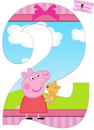 Resultado de imagem para alfabeto da peppa pig para imprimir