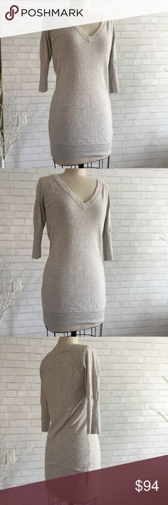 🎆Short sleeve oversized sweater Oversized gray sweaters with short sleeves by James Perse   Size 2 will fit up to a size 6, dress from is a small size 8. Retail average $350 -  $375  James Perse  gray oversized sweater $85% cotton 15% cashmere.   Ⓜ️chest 34 Ⓜ️sleeves 16 Ⓜ️length 31  ✅Bundle and save  ✅🚭 ✅ all reasonable offers will be considered 🚫No Trading 🙅🏻 Poshmark rules only‼️ James Perse  Sweaters