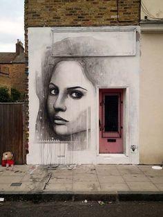 Street Artists around the World - Ben Slow in London, UK