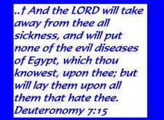 Deuteronomy 7:15