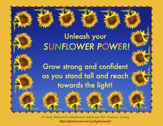 Unleash your Sunflower Power!