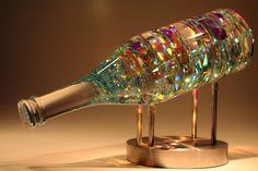 Glass Sculptures Designs by Fine Art Glass Artist Jack Storms ~ BellaVino