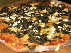 Kale pizza? Yes, please! (No, really!)