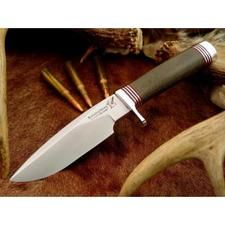 Couteau Blackjack Model 125 Classic Lame Acier A2 Manche Micarta Etui Cuir Made In USA BCB125GM - Free SHipping Couteaux BLACKJACK