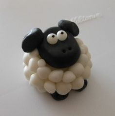 sheep cake topper how to