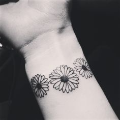 Daisy tattoo, do you think maddie will take the hint