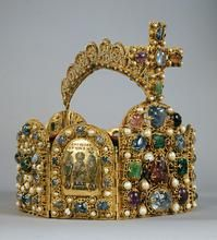 Die Reichskrone. The Imperial Crown | Second Half of the 10th Century, Crown Cross addition from the early 11th Century